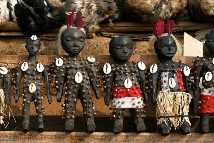 A voodoo market in Lomé