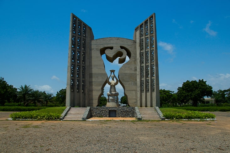 The Independence Monument in Lomé
