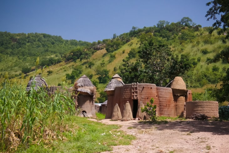 Koutammakou in Togo