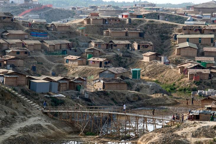 Cox's Bazar refugee camp
