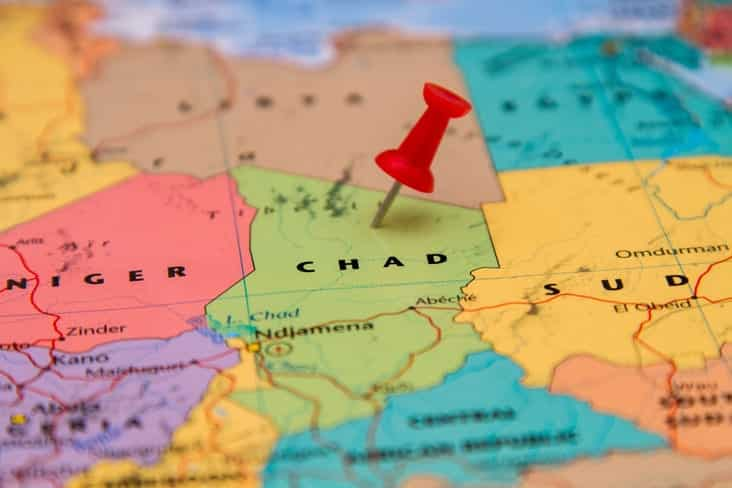Map of Chad