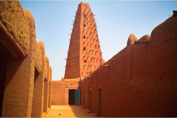 Interesting facts about Niger include the town of Agadez