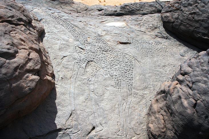 The Dabous Giraffe Petroglyph