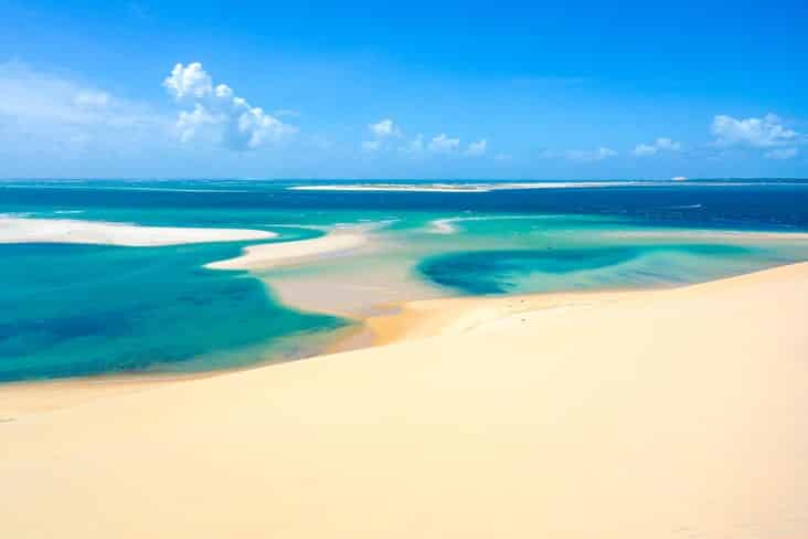Interesting facts about Mozambique include its idyllic beaches