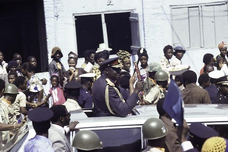 Idi Amin in 1976