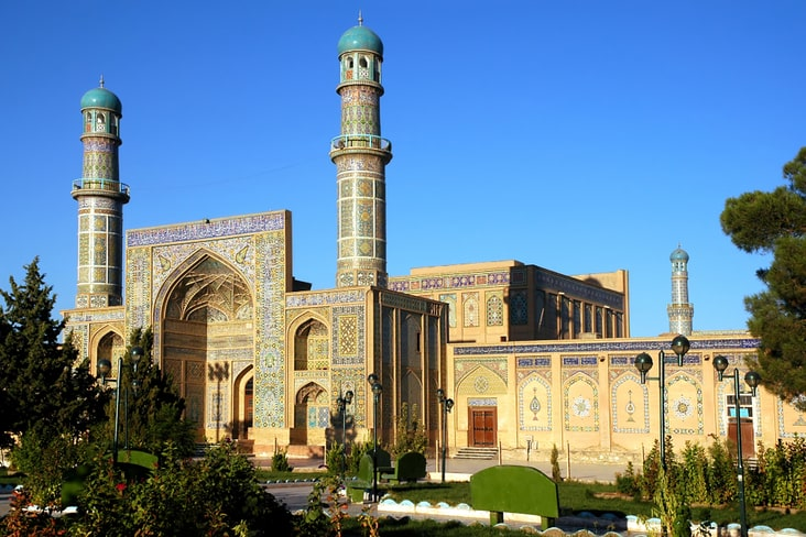The Grand Mosque of Herat in Afghanistan