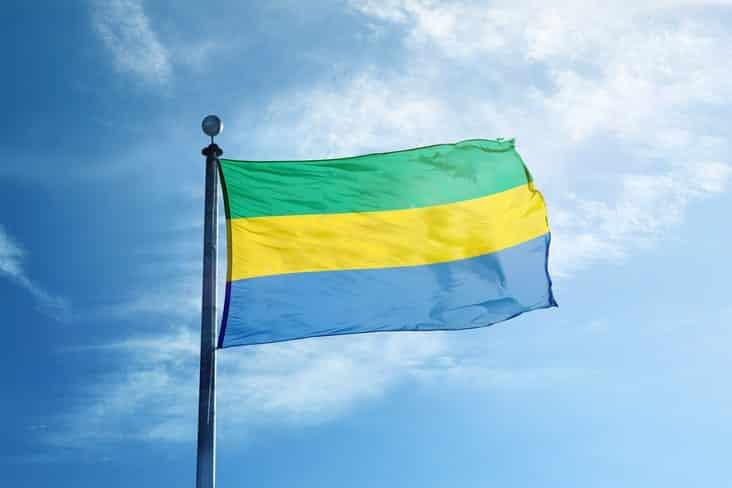 Gabon's flag