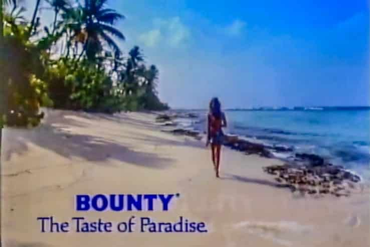 A screenshot from the Bounty commercial
