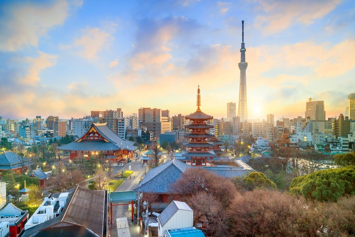 Tokyo is one of the most powerful cities in the world