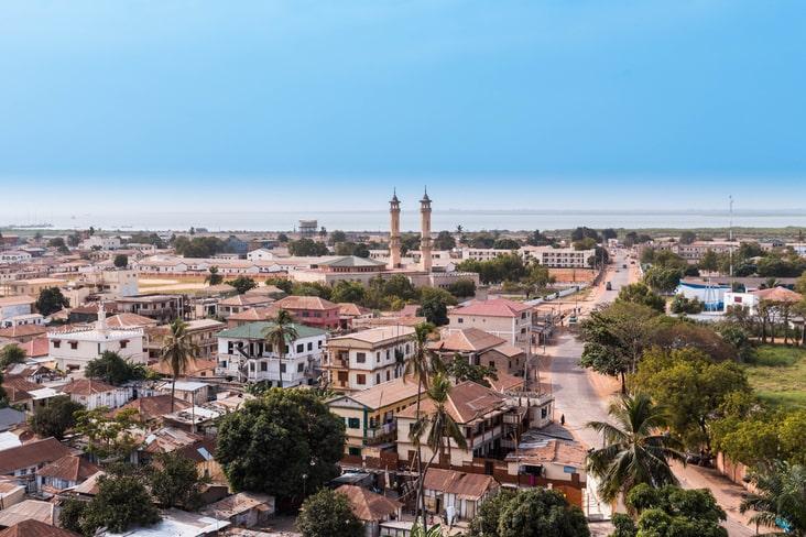 The Gambia's capital city, Banjul