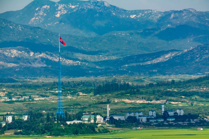 The fake village of Kijong-dong
