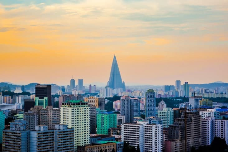 Interesting facts about North Korea include its architecture