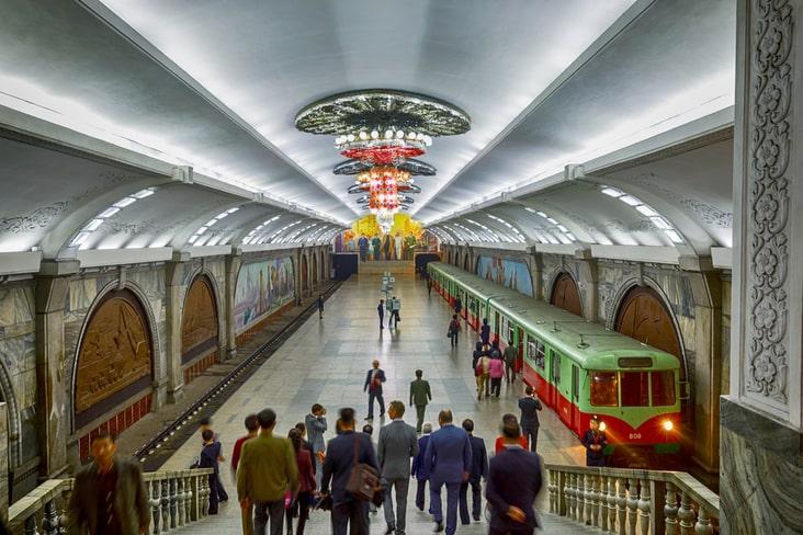 The Pyongyang Metro system