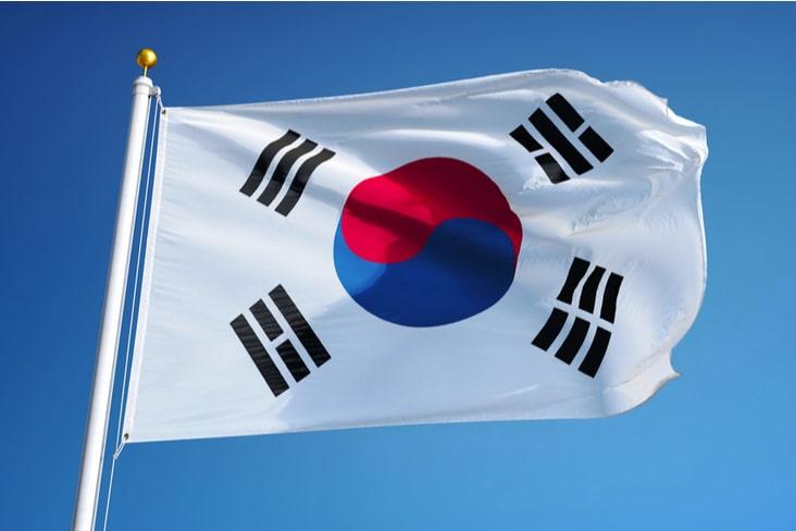 The South Korean flag