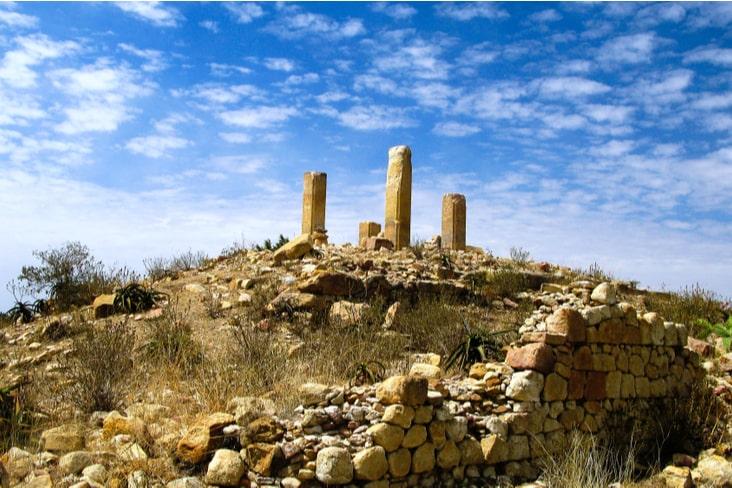 The Aksumite ruins of Qohaito