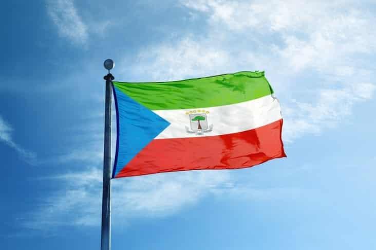 The flag of Equatorial Guinea