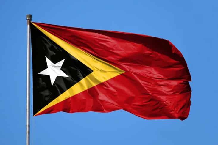East Timor's flag