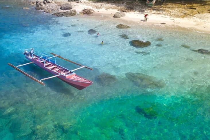 A boat near Atauro Island