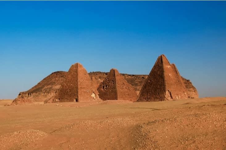 The pyramids of Gebel Barkal