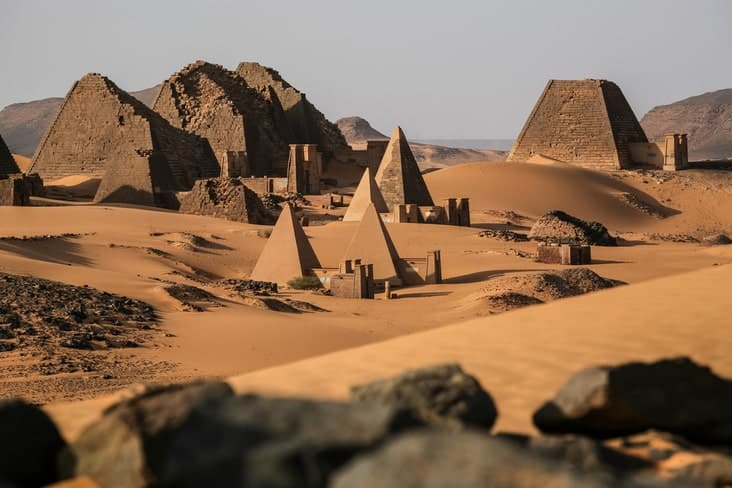 Interesting facts about Sudan include its pyramids
