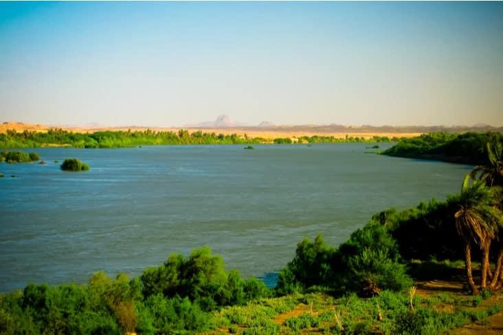The River Nile in Sudan