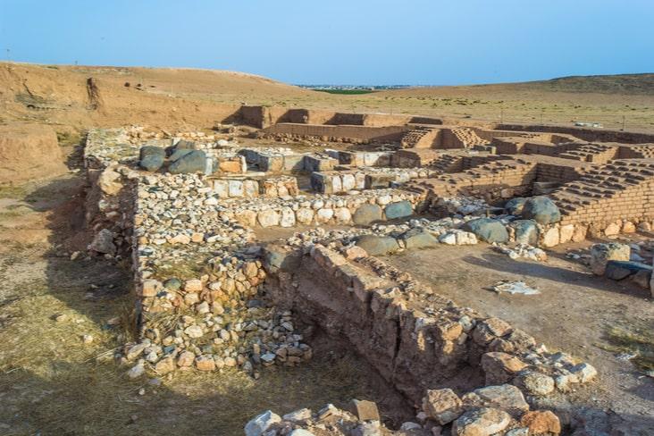 The ruins of Ebla in Syria