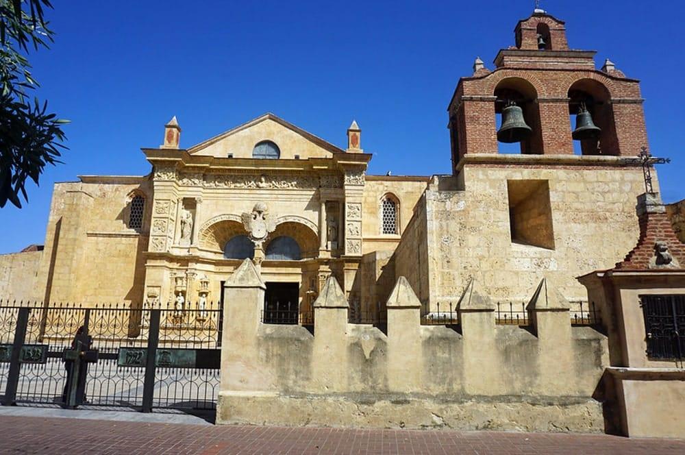 The Catedral Primada de América under blue skies